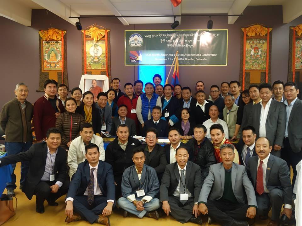 North American Tibetan Association Conference Delegates.